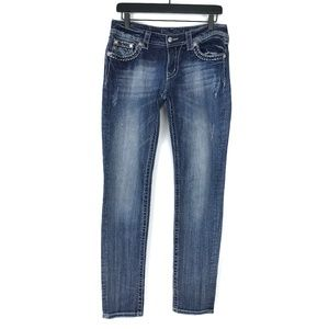 Miss Me Mid-Rise Skinny Jeans #2166